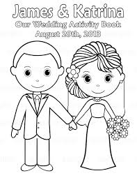 More Images Of Childrens Wedding Colouring Book