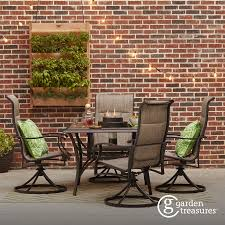 Garden Treasure Patio Furniture by Shop The Skytop Patio Collection On Lowes Com Backyard Ideas