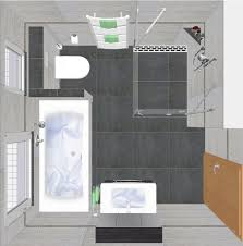 wohlfühlbad 7 5 qm inkl waschtisch dusche badewanne und