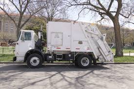 100 Rubbish Truck WASHINGTON DC OCT 4 Garbage With Rear End Stock