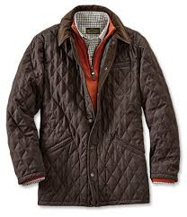Quilted Barn Jacket For Men Wool Dorset Quilted Jacket Orvis