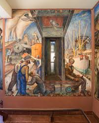 Coit Tower Murals Images by City Visions Coit Tower Restored Kalw