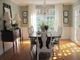 Dining Room Decorating Ideas With Chair Rail Awesome Small Apartment