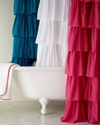 Pink Ruffle Curtains Uk by April Designs 8 Favorite Shower Curtains Favorites2share