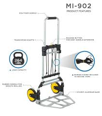 100 Hand Truck Vs Dolly Buying Guide For MountIt HeavyDuty Folding And