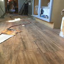 Trafficmaster Glueless Laminate Flooring Alameda Hickory by Trafficmaster Lakeshore Pecan 7 Mm Thick X 7 2 3 In Wide X 50 5 8