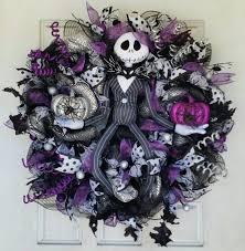 Nightmare Before Christmas Halloween Decorations Diy by Best 25 Nightmare Before Christmas Wreath Ideas On Pinterest