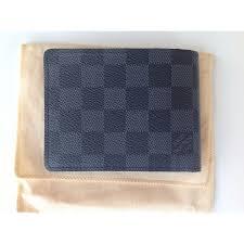 portefeuille louis vuitton gris toile enduite réf a97127