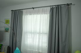 Target Double Curtain Rod by Nursery Blackout Curtains Target Affordable Ambience Decor
