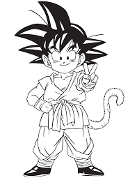 Beautiful Dragon Ball Z Goku Coloring Pages 29 For Site With