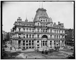 United States Post fice and Sub Treasury Building Boston