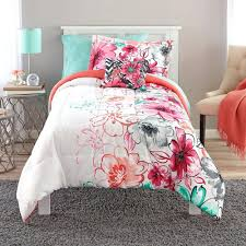 Twin Xl Bed Sets by Coral Reef Embroidered Piece Comforter Set Twin Xl Colored Bedding