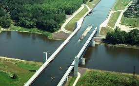 100 Magdeburg Water Bridge Deskarati