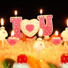 Cartoon Candle Cake Love Candles Accessories Bougies D Coratives Velas Night Light Happy Birthday Candle Making Bougies QQZ305 in Candles from Home & Garden