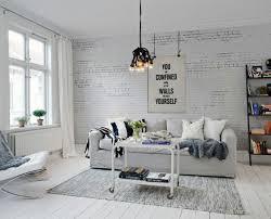 nachahmung ziegeltapete im schlafzimmer neu haus designs