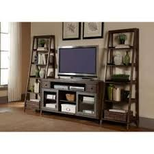 Liberty Avignon Rustic Brown Wood And Metal 3 Piece Entertainment Unit