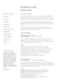 Sample Social Work Resumes Resume 7 Worker Curriculum Vitae