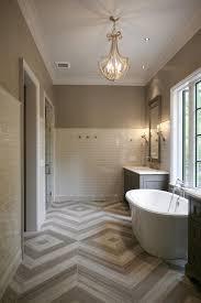 herringbone floor tiles contemporary bathroom cr home design
