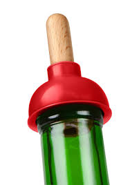 Bathtub Drain Stopper Plunger Stuck by Amazon Com Fred Plunge Wine Bottle Stopper Wine Bottle Stoppers
