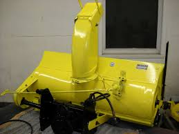John Deere Stx38 Yellow Deck Removal by Model 49 Snowblower Rebuild With Lots Of Pictures Mytractorforum