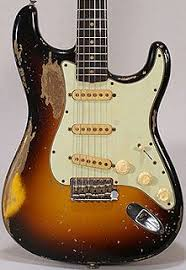 John Frusciante Of The Red Hot Chili Peppers 1962 Sunburst Stratocaster