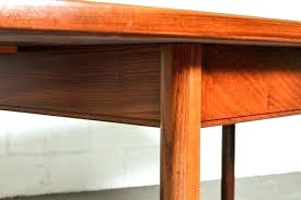 Hidden Leaf Table Dining Teak With Butterfly Extension Kitchen