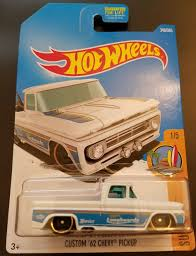 100 Truck Games 365 Custom 62 Chevy Pickup Collectable Toys Hot Wheels Hot Wheels