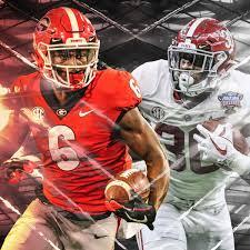 College Football Finale Alabama Crimson Tide Georgia Bulldogs