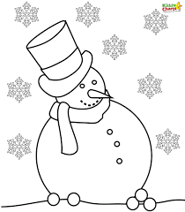 Weather Coloring Pages Pdf Snowman Books Preschool Cute Free Printable Cloudy Preschoolers Stormy Winter Kids Bad