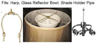 stiffel l shade sits on glass bowl or harp l shade pro