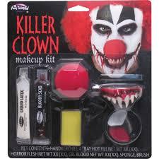 Walmart Halloween Contacts No Prescription by Carver The Killer Clown Halloween Costume Walmart Com