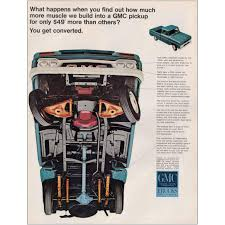 100 2 Men And A Truck Prices Mazoncom RelicPaper 1966 GMC S You Get Converted GMC Print