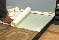 Can You Lay Tile Over Linoleum Backing by How To Install Ceramic Tile Over Vinyl Flooring U2022 Diy Projects