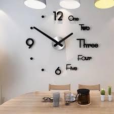 großhandel 3d moderne wanduhr aufkleber dekorativen küche wanduhren für wohnzimmer esszimmer wohnkultur wanduhr europa horloge unclouded01 17 32