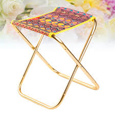 Portable Outdoor Aluminum Alloy Folding Camping Stool Lightweight ... Amazoncom Yunhigh Mini Portable Folding Stool Alinum Fishing Outdoor Chair Pnic Bbq Alinium Seat Outad Heavy Duty Camp Holds 330lbs A Fh Camping Leisure Tables Studio Directors World Chairs Lweight Au Dropshipping For Chanodug Oxford Cloth Bpack With Cup And Rod Holder Adults Outside For Two Side Table