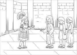 Click To See Printable Version Of When Jesus Had Entered Capernaum A Centurion Came