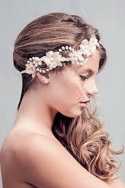Custom Couture Rustic Wedding Flower Crown Hair
