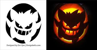 Pumpkin Patterns To Carve by 10 Free Printable Scary Halloween Pumpkin Carving Patterns 2017