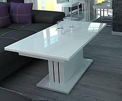 madera couchtisch weiss hochglanz wohnzimmertisch sofatisch tisch weiß wohnzimmer 120cm