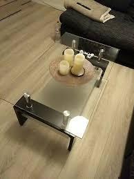 couchtisch tisch glastisch schwarz beistelltisch wohnzimmer