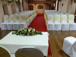 Wedding Chair Sash Buckles by Lemon Chair Sashes With Sunflowers At Miskin Manor By Simply Bows