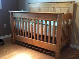 crib designs woodworking