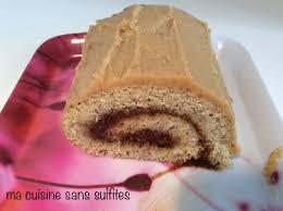 ma cuisine sans gluten bûche de noël au café sans gluten ma cuisine sans sulfites
