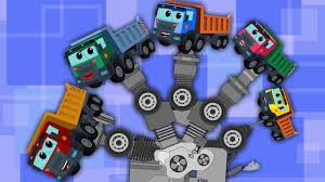 100 Dump Truck Song Finger Family Song Dump Truck For Kids Kids YouTube