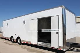 Enclosed Race Trailer, Used Travel Trailers For Sale In Texas On ...
