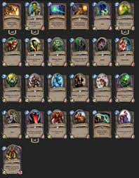 please post your 9 0 arena decks the arena hearthstone game