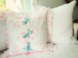 Simple Shabby Chic Ruffled Pillow | HGTV Vintage Upcycled Velvet Ruffled Cushion And Pad Embellished Glam Cover Elegantly Twee Boudoir Wcrystal Buckle Linen Covers Cushions Ding Room Chair Pads With Ties Ding Room Chair Slipcovers The Slipcover Maker From Shower Curtain To French Country Kitchen Pads Video Photos Rectangle Pillow Covercushion How Select Seat For Chairs Overstockcom Cover Gathered Ruffles With Ballerina Sash Lace Love Ruffle White Ethic Cotton Blending Handmade Decorative Large Patio Porch Minggame001 1663 Delightful Teal Slipcovers