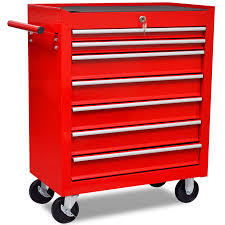 Waterloo 7 Drawer Tool Cabinet by Sidchrome 7 Drawer Roller Cabinet Chest Of Drawers