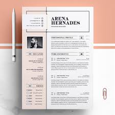 Arena Resume Template Poster Design Inspiration Ideas Pinterest