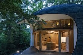 100 House Earth And Wood Shell Is An Ideal Refuge In Nagano Woods Domus